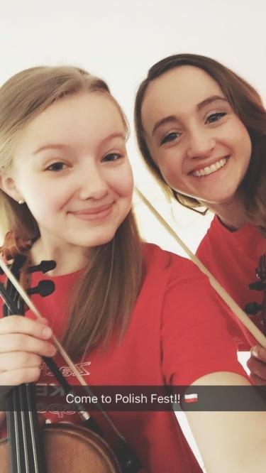 Sonia and Lauren Bauer